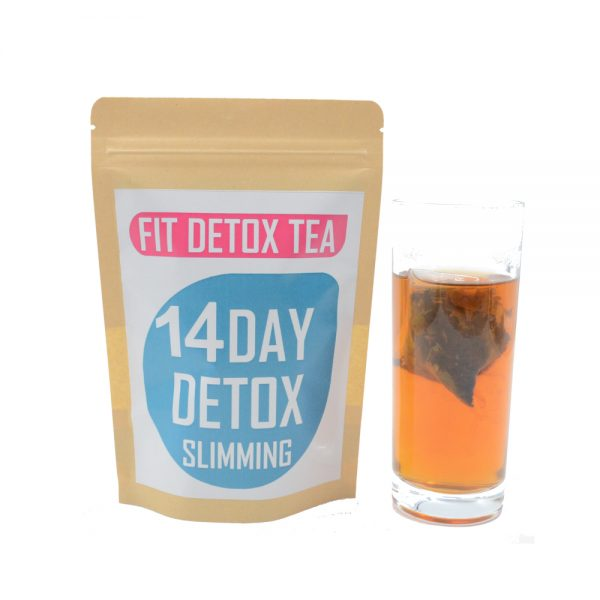 Fit detox tea 28Day(2packs required) detox slimming 3