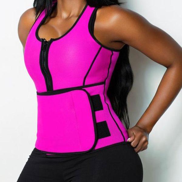 Sauna workout sweat vest