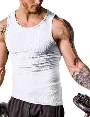 Ventilate seamless belly slimming vest male shaper 3