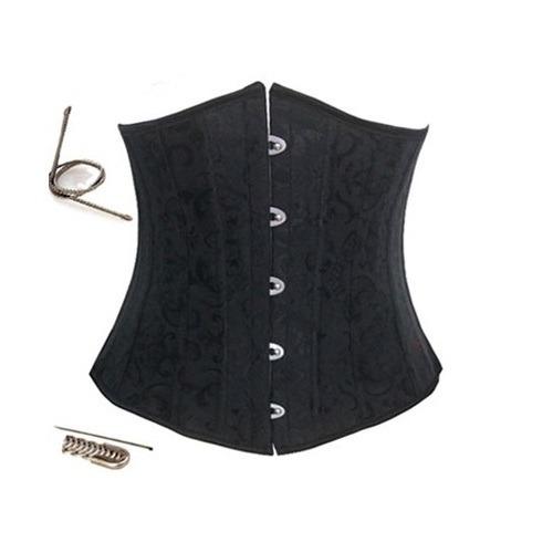 Ella Elegant Black Steel Corset