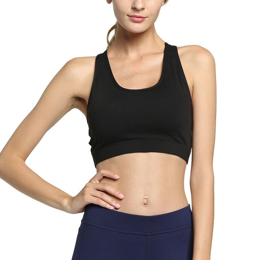 Nina Flawlessly Back Pocket Gym Bra (Athletic Apparel)