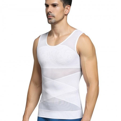 Owen Tank Double layered mesh vest shaper