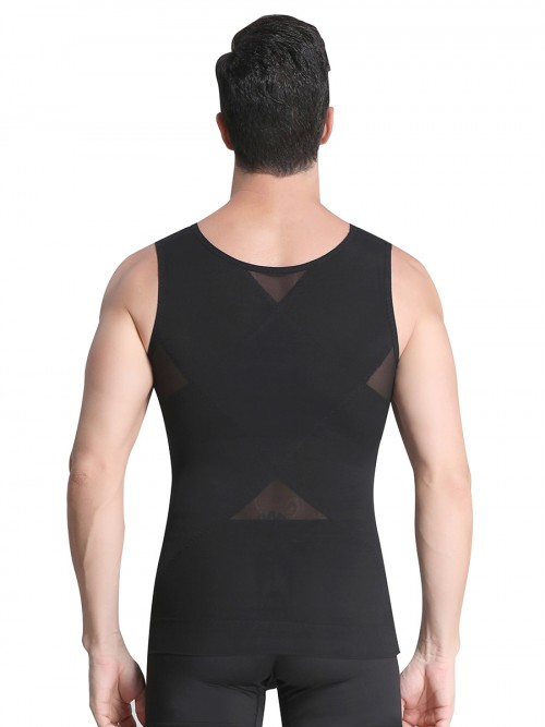 Owen Tank Double layered mesh vest shaper 3