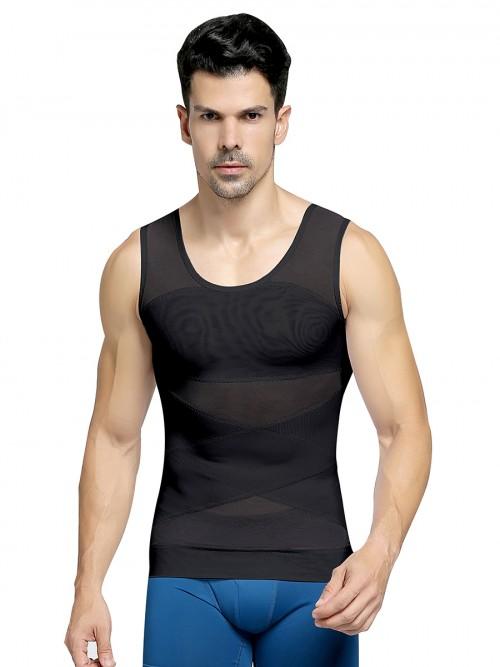 Owen Tank Double layered mesh vest shaper 10
