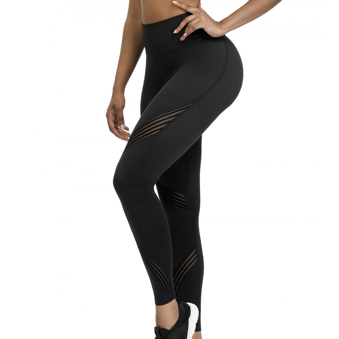 Alexandra 3D Print High Waist Tech Leggings.