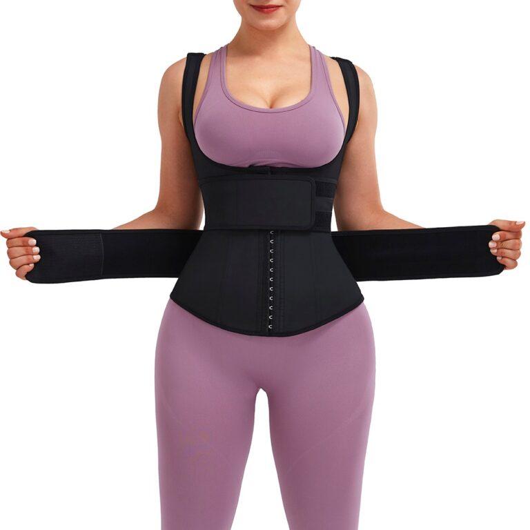 Eva Extended 3 Row Hook Vest Shaper 8