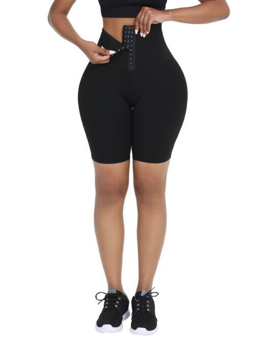 AMA High Waist Shorts 4